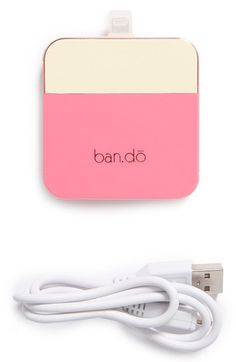 Free shipping and returns on BAN.DO 'Back Me Up' iPhone 5 Charger at Nordstrom.com. Recharge your iPhone in a pinch with a stylish, compact charger that allows you to power up your favorite device anywhere.