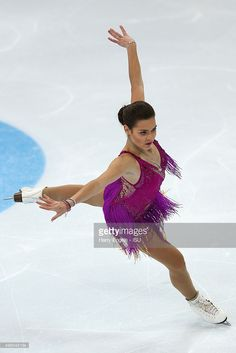 Adelina Sotnikova of Russia skates during the Ladies Short Program on day one of the Rostelecom Cup ISU Grand Prix of Figure Skating 2015 at the Luzhniki Palace of Sports on November 20, 2015 in Moscow, Russia.