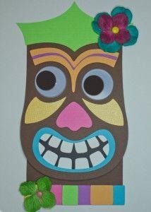 Tiki Luau DIY Decorations | handmade tiki invitation, decorations, tiki svg, luau, hawaiian ...