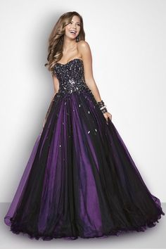 Quinceanera Dresses Ball Gown Sweetheart Floor Length With Beading Rhinestone