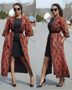 Stylish spring work outfits appropriate for the office African Wear Dresses, Latest African Fashion Dresses, African Print Fashion, Women's Fashion Dresses, African Prints, Modest Fashion, Latest African Styles, Africa Dress, Kimono Fashion