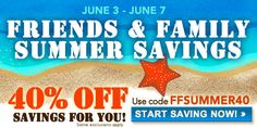Save 40% on crafting books, supplies, kits and much more at Interweave.com using coupon code FFSUMMER40  June 3rd - June 7th. #sewing #diy #sale #crafting