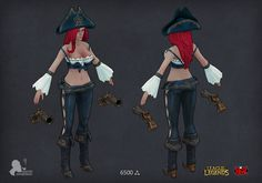 [Riot Art Contest] - Miss Fortune - Page 2 - Polycount Forum