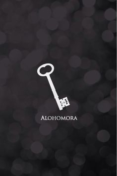 iPhone wallpaper.  Alohomora. Harry Potter. Week 47 2014