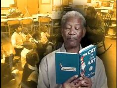 Morgan Freeman reading an excerpt from The Cat in the Hat by Dr. Seuss. This is my birthday present to the ever wonderful @Sarah Gray