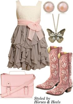 Pink: Color of the Month on Horses & Heels