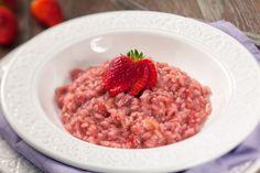 Risotto z truskawkami 20 Min, French Food, Saveur, Quinoa, Oatmeal, Grains, Breakfast, Ethnic Recipes, San Valentino