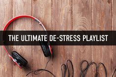 Many people find that turning to music is a great way to relieve stress. Check out our playlist filled with feel good songs to help you de-stress!