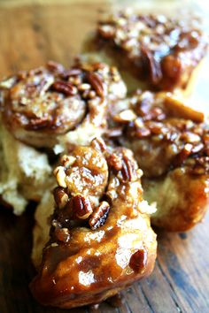 From the Artisan Bread in Five Minutes a Day cookbook, these sticky pecan caramel rolls are a definite crowd pleaser. Looking for a Labor Day Weekend morning treat? These are for you. A delectable recipe!
