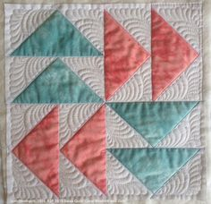 Okay, I jumped in… maybe a bit too quickly… but I have started with my quilting the F2F blocks. Here is the collection again from last June. There will be more blocks added to create a …