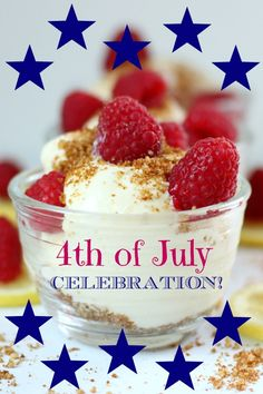 4th of July Celebration and Healthy Gluten-Free Menu