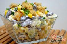 Lehký kuřecí salát se zálivkou ze zakysané smetany a dijonské hořčice What To Cook, Salad Dressing, Finger Foods, Food Inspiration, Potato Salad, Healthy Life, Salads, Food And Drink, Health Fitness