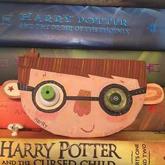 Holli Conger - Potter Head Noggin™ Found Object Art, Art For Kids, Harry Potter, Objects, Fine Art, Illustration, Art For Toddlers, Art Kids, Illustrations