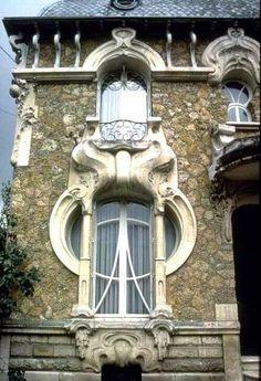 Orleans, France - Art Nouveau architecture.