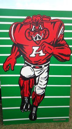 football Adult razorback camp arkansas