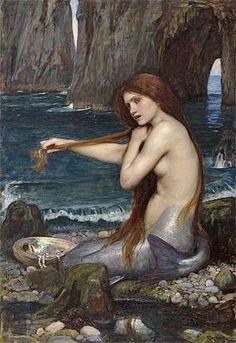 A Mermaid,1900 | Waterhouse | Royal Academy of Arts London United Kingdom