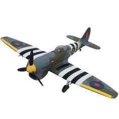 Dynam Hawker Tempest 1250mm Wingspan EPO Warbird RC Airplane PNP DY8959 #Affiliate
