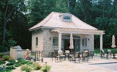 Small Pool Cabanas Design Ideas   pool house plans – cabanas and pool houses neave pools [561x347 ...
