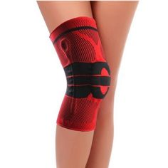 22cca63590 High Quality Silicon Padded Kneepad Brace Knee Guard For Gym ,Outdoor  ,Sports, Ridding, Red