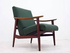 Teak Furniture 北欧スタイルチーク材1Pソファ デンマークカリモクウニコ インテリア 雑貨 家具 Modern ¥42000yen 〆05月14日