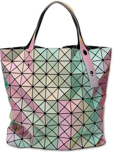 BAO BAO ISSEY MIYAKE BILBAO PRISM RAINBOW TOTE bag $885