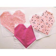 Heart blocks by Amber of oneshabbychick.typepad.com