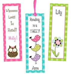Printable Custom Bookmarks Pictures