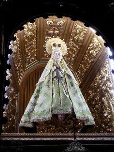 Virgen del Castañar en el Santuario de la virgen del Castañar, celebración 8 de septiembre