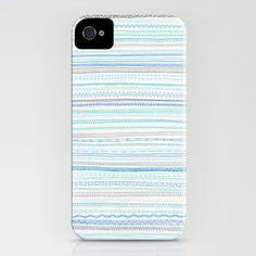 Pastel tone pattern iPhone case