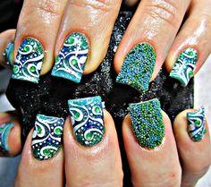 Call Me Caviar - Nail Art Gallery nailartgallery.nailsmag.com by nailsmag.com #nailart