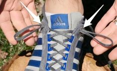 So That's What That Extra Shoelace Hole is For - Neatorama