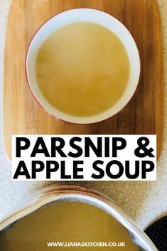 Parsnip and apple soup is the perfect summer dish. The mix of apple, parsnip and cinnamon in this soup makes this feel like a sweet yet healthy treat! Parsnip And Apple Soup, Parsnip Soup, Easy Soup Recipes, Cooking Recipes, Healthy Recipes, Morphy Richards Soup Maker, Summer Dishes, World Recipes, Veggie Dishes
