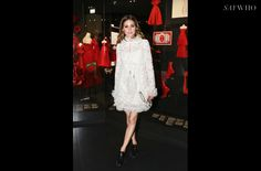 "Olivia Palermo  à l'inauguration de l'exposition ""Christian Dior, Couturier de rêve"" | SAYWHO"