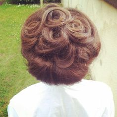 Edwardian hairstyle for a movie
