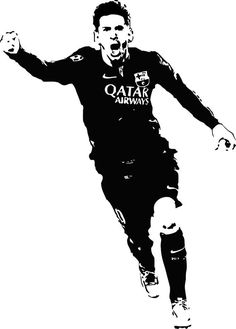 Cheap wall decals, Buy Quality wall sticker directly from China football decal Suppliers: Art Decals Football Player Wall Stickers Nontoxic Pvc Wall Decal For Living Room Waterproof Home Decor Basketball Drawings, Soccer Art, Pop Art Portraits, Portrait Sketches, Messi Logo, Messi 10, Messi Drawing, Football Team Logos, Football Soccer