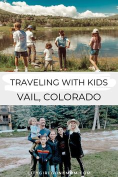 Vail, Colorado Summer Family Vacation.  Vail is full of beautiful places and fun outdoor activities with kids, making it a family favorite for summer vacation! With outdoor activities like rafting, hiking and fishing, we've done it all in the mountains of Colorado and think these places to stay and things to do belong on your summer travel bucket lists.  Vail is one of those destinations great for summer and winter!  #Vail #Colorado #familytravel #vailcolorado #familyvacation #ad