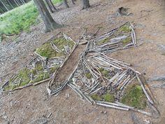 Školka v přírodě - tvoření Land Art, Outdoor Ideas, Nature