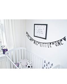 The one and only letter banner!<br /> <br /> This black banner is great for birthdays, announcements, declarations of love or just to add a personal touch to your home, office or kids room. The letters are reusable so you can change your message as often as you like! <br /> <br /> This package contains: 138 cardboard letters, numbers and symbols and metal clips. So you can make any quote, message, word or sentence you like, over and over again. <br /> <br /> The letters are approx 5 x 10cm