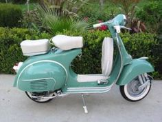 restored 1966 vespa...love.