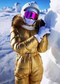 Ski Outfits, Winter Outfits, Ski Bunnies, Bunny Suit, Winter Suit, Moon Boots, Snow Suit, Moncler, Playsuit
