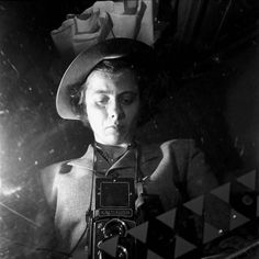 Vivian MAIER :: Self portrait, undated
