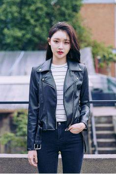 For You Rider's Jacket | Korean Fashion