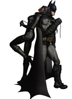 Batman Catwoman Arkham City Fathead