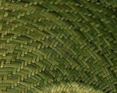 Green straw weaving