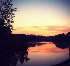 Boone Lake TN, named after Daniel Boone.