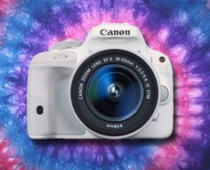 Pequena e poderosa - High-Tech Girl   Canon EOS 100D branca
