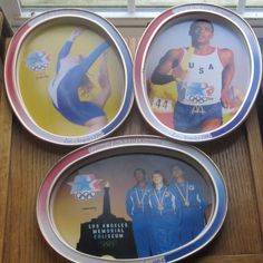1984 Los Angeles Olympics McDonald's Tin Trays by LeftoverStuff, $15.00