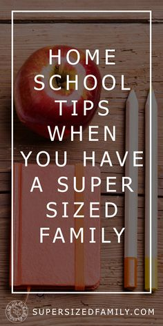 Homeschooling with a Supersized Family   |   Balancing your homeschool routine among children, chores and time constraints is a constant juggling act. Here are some tips for homeschooling with a large family.