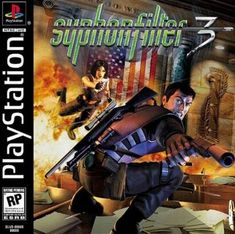 Syphon Filter 3 for the original Sony Playstation Now on sale with a no questions asked return policy. Ever After High Games, Pc Engine, Gaming Pcs, Gaming Computer, Video Game Posters, Classic Video Games, Playstation Games, Ps3, Play 1