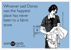 Free, Encouragement Ecard: Whoever said Disney was the happiest place has never…